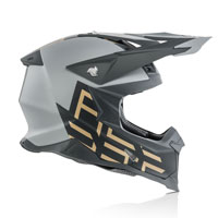 オフロードヘルメット Acerbis インパクト X レーサー Vtr グレー