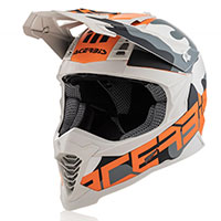 Acerbis Impact X Racer Vtr Arancio Camouflage