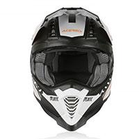 Acerbis X-racer Vtr Helmet White Black