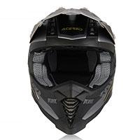 Casco Acerbis X-Racer VTR negro gris