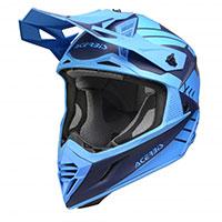 Casco Acerbis X-track Blu