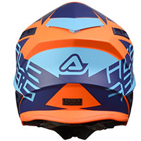 Acerbis X-track Helmet Blue Orange