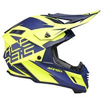 Casco Acerbis X-Track azul amarillo