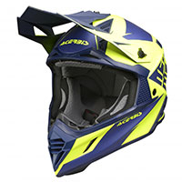 Acerbis X-track Helmet Blue Yellow
