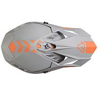 Casco Acerbis X-track Grigio - 3