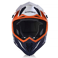 Acerbis X Track Vtr Helmet Orange Blue
