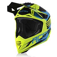 Acerbis X Track Vtr Helmet Ligth Blue Yellow