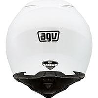 Agv Ax-8 Evo Agv E2205 Mono - White - 4