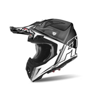 Airoh Aviator 2.2 Check Helmet White Gloss