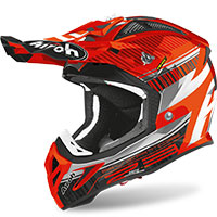 Airoh Aviator 2.3 Novak Chrome Arancio