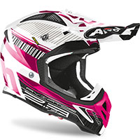 Airoh Aviator 2.3 Novak Chrome Rosa