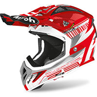 Airoh Aviator 2.3 Novak Chrome Red