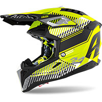 Casco Airoh Aviator 3 Wave Giallo Opaco
