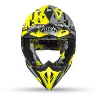 Airoh Aviator 2.3 Ams Great Giallo Opaco - 4