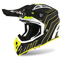 Casco Airoh Aviator Ace Art Nero Opaco