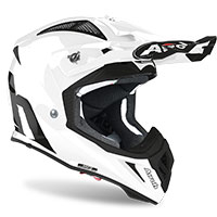 Airoh Aviator Ace Color Bianco Lucido