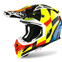 Airoh Aviator Ace Trick Yellow Gloss