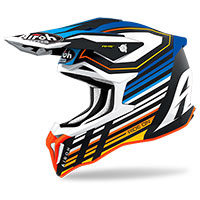 Casco Airoh Strycker Shaded Blu Opaco