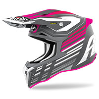 Casco Airoh Strycker Shaded Rosa Opaco