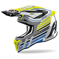 Casco Airoh Strycker Shaded Giallo Lucido