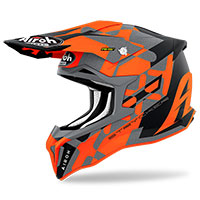 Casque Airoh Strycker Xxx Orange Mat