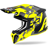Airoh Strycker Xxx Helmet Yellow Matt