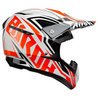 Casco Motocross Airoh Switch Impact Arancio