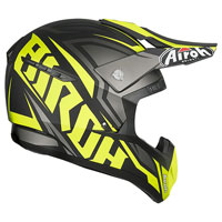 Off Road Helmet Airoh Switch Impact Yellow