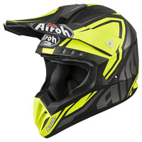 Casco Motocross Airoh Switch Impact Giallo