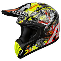 Casco Motocross Airoh Switch Pirate