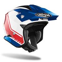 Airoh Trr S Keen Helmet Blue Red