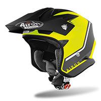 Airoh Trr S Keen Helmet Yellow Matt