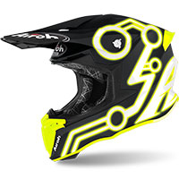 Airoh Twist 2 Neon Yellow Matt
