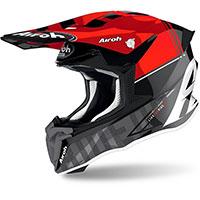 Casco Airoh Twist 2 Tech Rosso Lucido