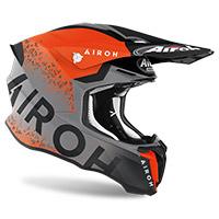 Airoh Twist 2 Bit Helmet Orange Matt