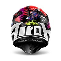 Airoh Twist Crazy Black Gloss