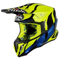 Airoh Twist Great Helmet Yellow Gloss