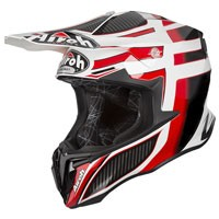 Airoh Twist Shading Helmet Red Gloss