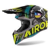 Airoh Wraap Alien Helmet Yellow Matt