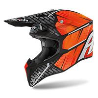 Airoh Wraap Idol Helmet Orange Matt