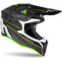 Casco Airoh Wraap Mood Verde Opaco