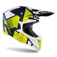 Airoh Wraap Raze Helmet Blue Gloss
