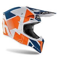 Airoh Wraap Raze Helmet Orange Matt