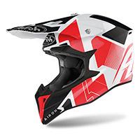 Airoh Wraap Raze Helmet Red Gloss