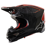 Alpinestars Supertech S-m10 Alloy Orange Red