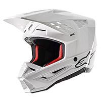 Casco Alpinestars Sm5 Solid Bianco Lucido