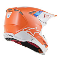 Off Road Helmet Alpinestars S-m8 Contact Orange