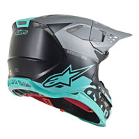 Alpinestars S-m8 Radium Helmet Light Blue