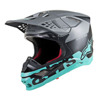 Casco Off Alpinestars S-M8 Radium azul