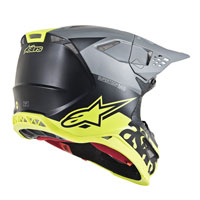 Casco Off Alpinestars S-M8 Radium amarillo